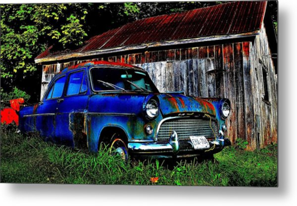 Old Dreams - Perspective 1 Metal Print