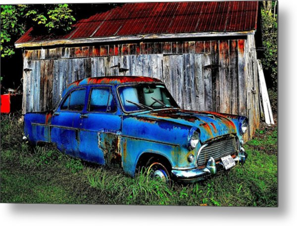 Old Dreams - Perspective 2 Metal Print