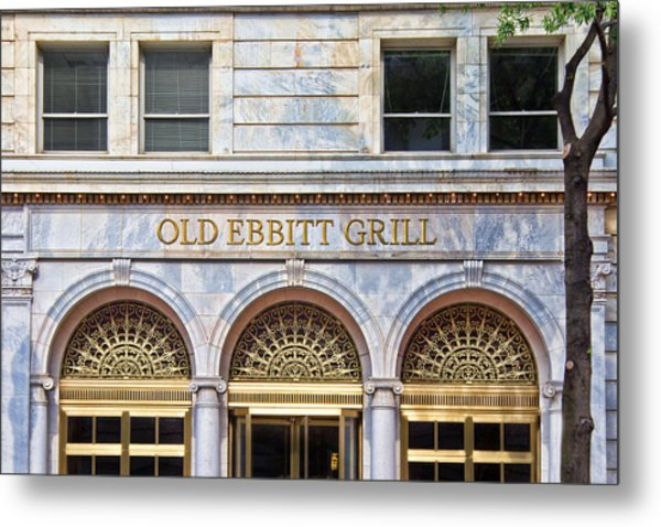 Metal Print featuring the photograph Old Ebbitt Grill by Jemmy Archer