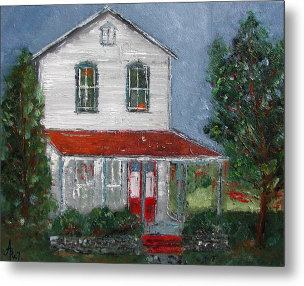 Old Farm House Metal Print