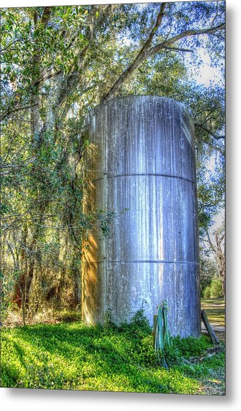 Old Fertilizer Tank Metal Print