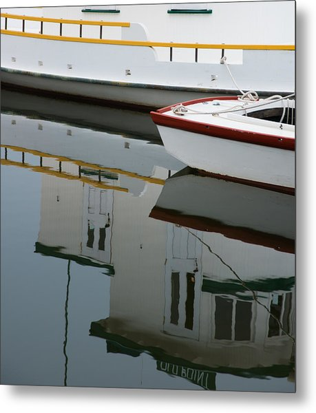 Old Fishing Boats Metal Print by Rande Cady