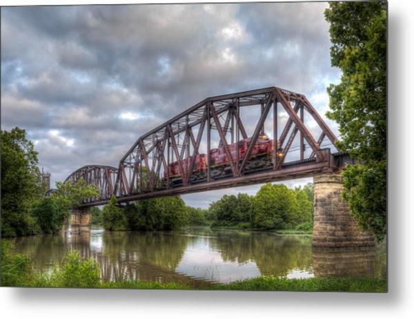 Old Frisco Bridge Metal Print