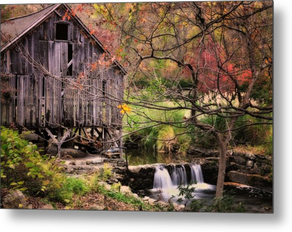 Old Grist Mill - Kent Connecticut Metal Print