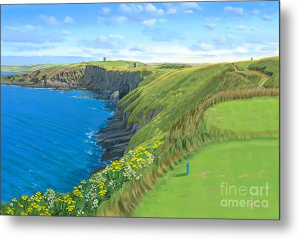 Old Head Golf Club Ireland Metal Print