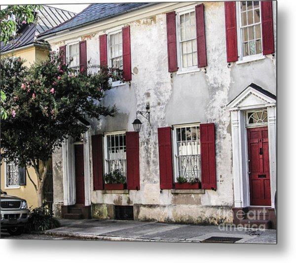 Old House In Charleston South Carolina Metal Print