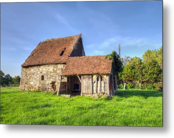 Old House  Metal Print by Ioan Panaite
