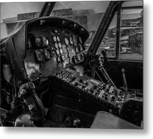 Old Huey Metal Print