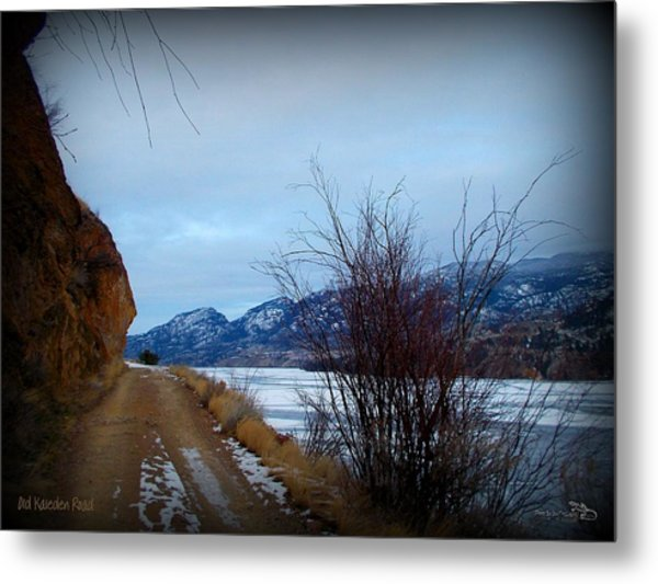 Old Kaleden Road 03-02-2014 Metal Print