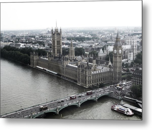 Old London .. New London Metal Print