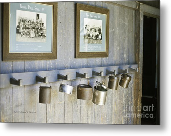 Old Lunch Pails Metal Print