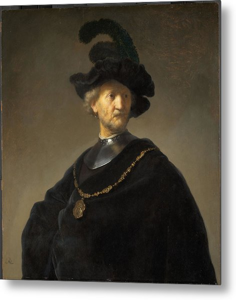 Old Man With A Gold Chain Painting By Rembrandt Van Rijn