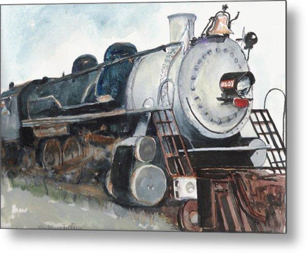 Old Mississippi Central Engine  Metal Print