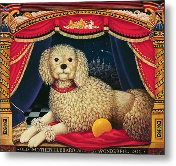 Old Mother Hubbards Wonderful Dog Metal Print