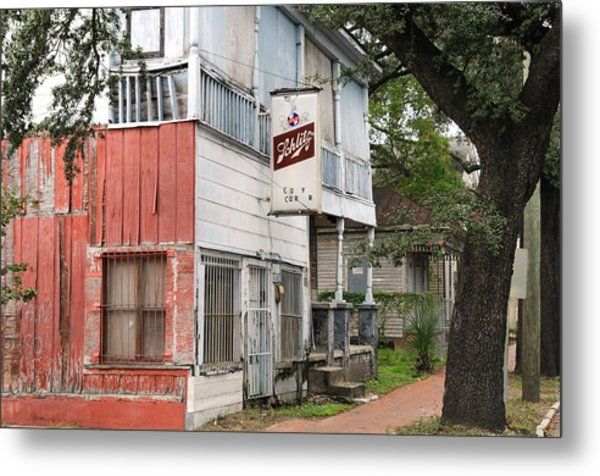 Old Neighborhood Bar Metal Print