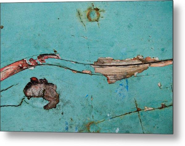 Old Ocean - Abstract Metal Print
