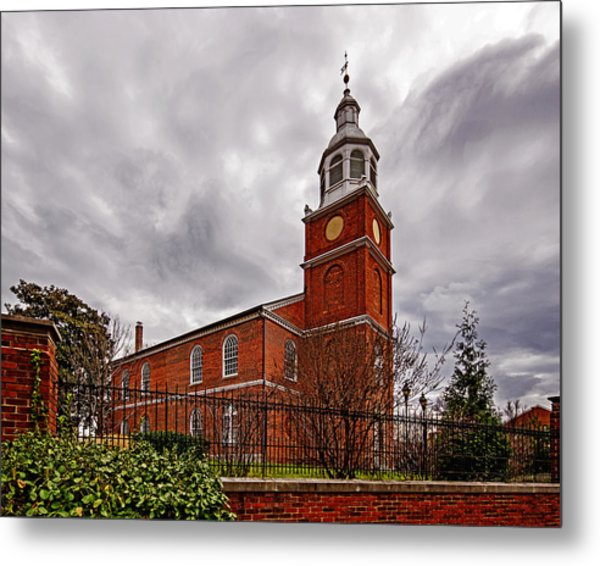 Old Otterbein Country Church Metal Print