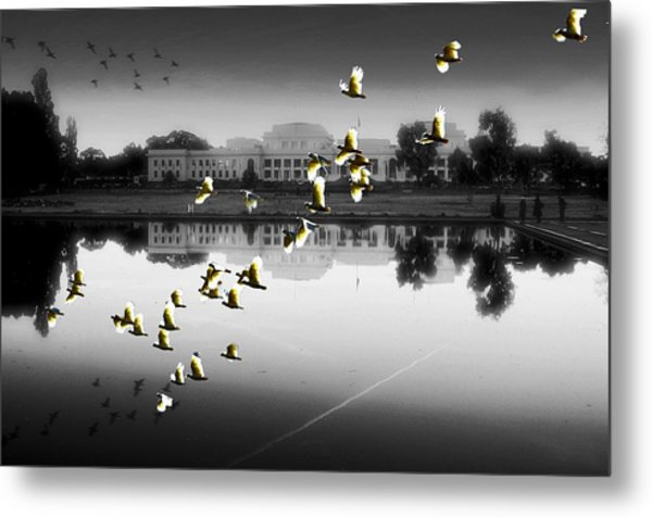 Old Parliament House Canberra Metal Print