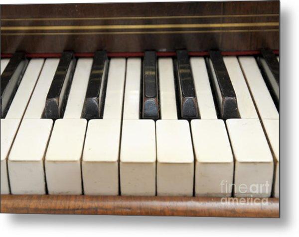 old piano II Metal Print