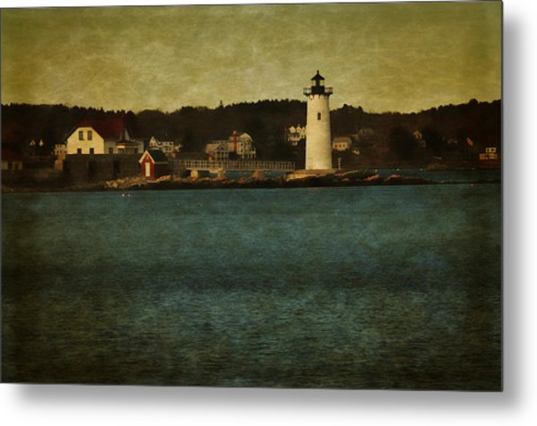 Old Portsmouth Lighthouse Metal Print