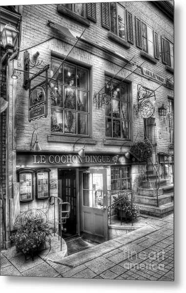 Old Quebec City 3 Metal Print