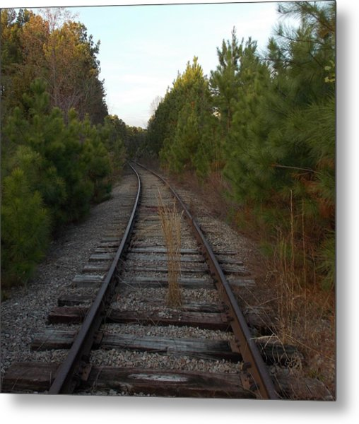 Old Railroad Metal Print