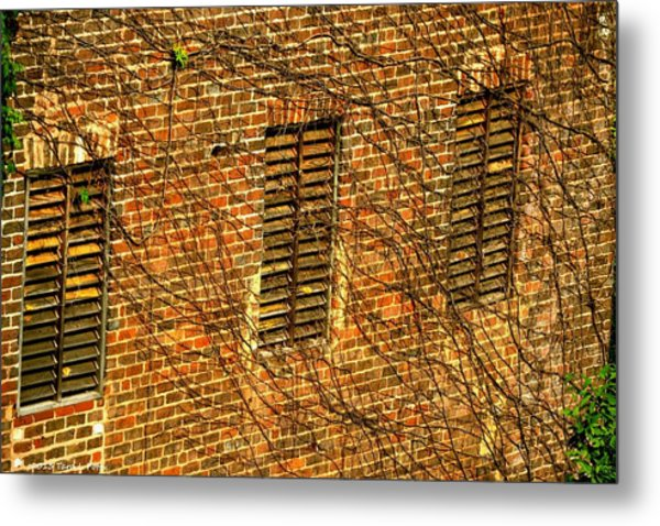 Old Roswell Manufacturing Mill Metal Print