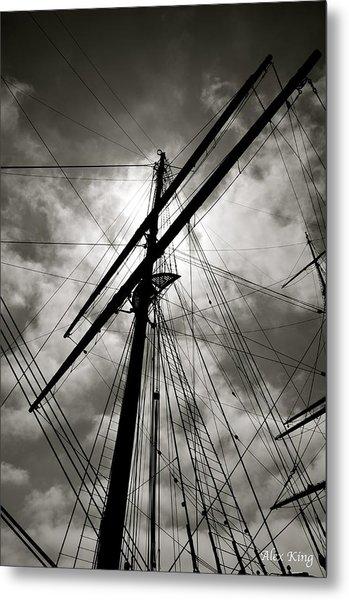 Old Sailing Ship Metal Print