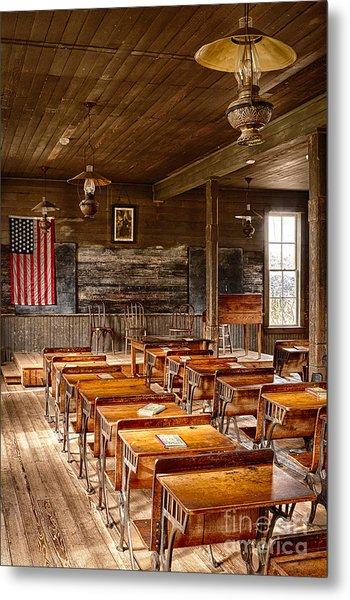Old Schoolroom Metal Print