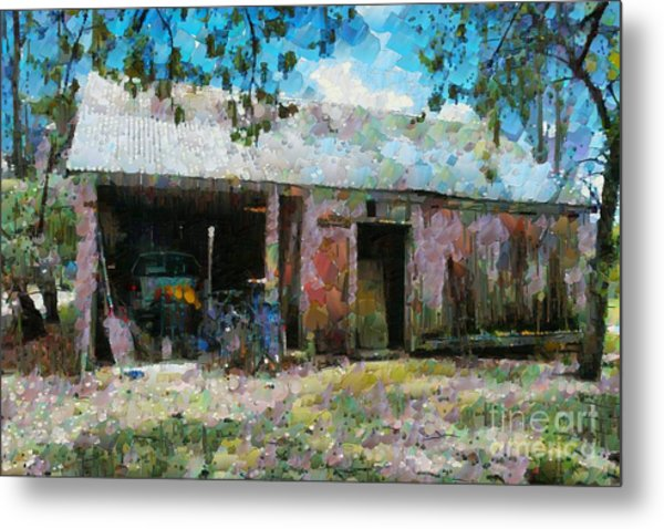 Old Shed Near Braidwood Metal Print