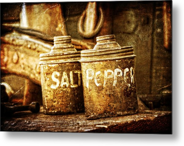 Old Spices Metal Print