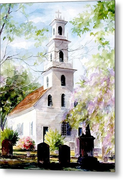 Old St. David's Church Metal Print