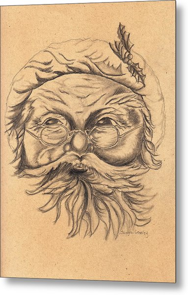 Old St. Nick Metal Print