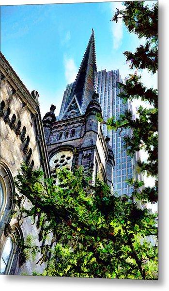 Old Stone Church - Cleveland Ohio - 1 Metal Print