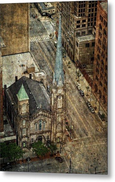 Old Stone Church Metal Print