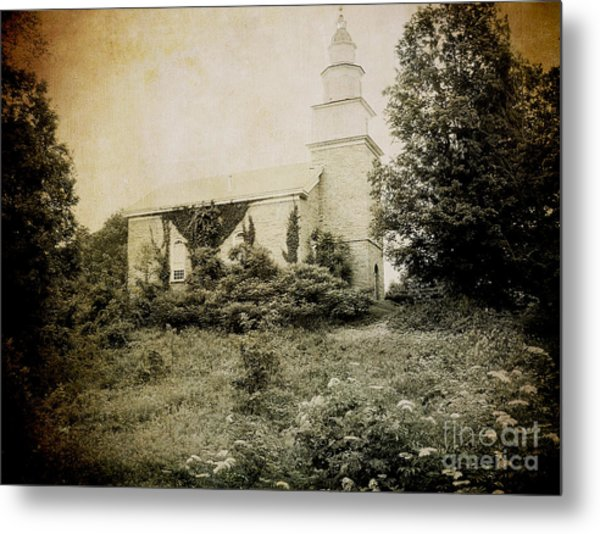 Old Stone Church In Rhinebeck Metal Print