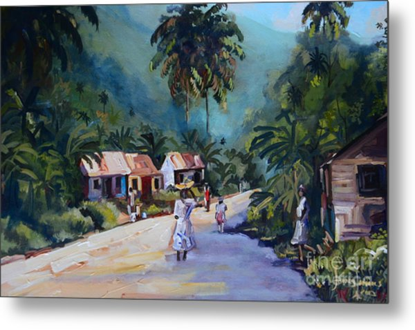 Old Time Jamaica Painting By Jeffrey Samuels