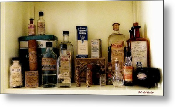 Old-time Remedies Metal Print