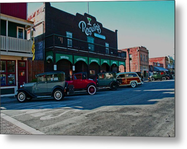 Old Town Isleton Metal Print