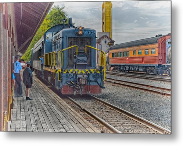 Old Town Sacramento Railroad Metal Print