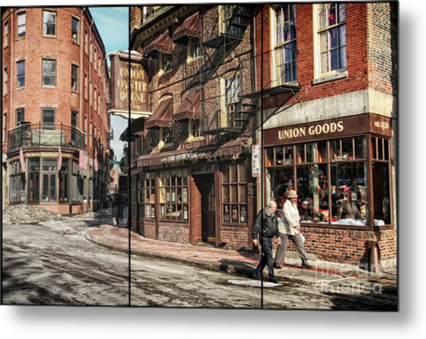 Old Towne Boston II Metal Print
