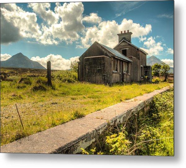Old Train Station Metal Print by Craig Brown