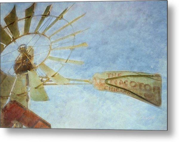 Old Windmill Metal Print