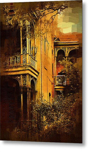 Old World Charm Metal Print