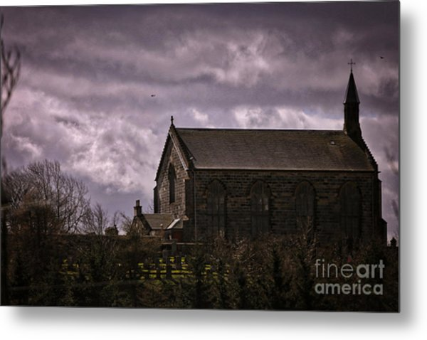 Old World Church Metal Print