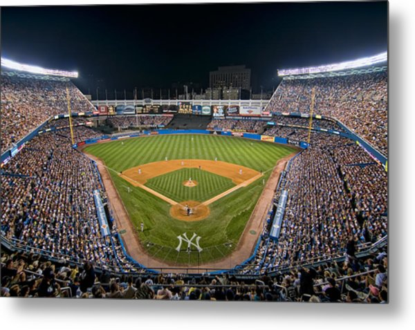 Old Yankee Stadium Metal Print