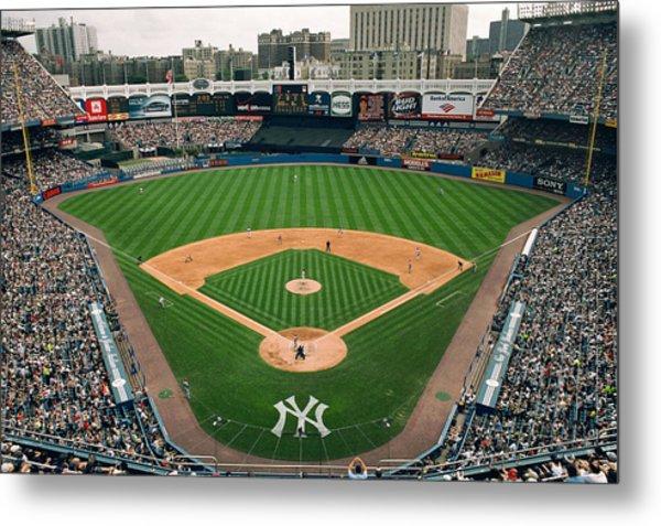 Old Yankee Stadium Photo Metal Print