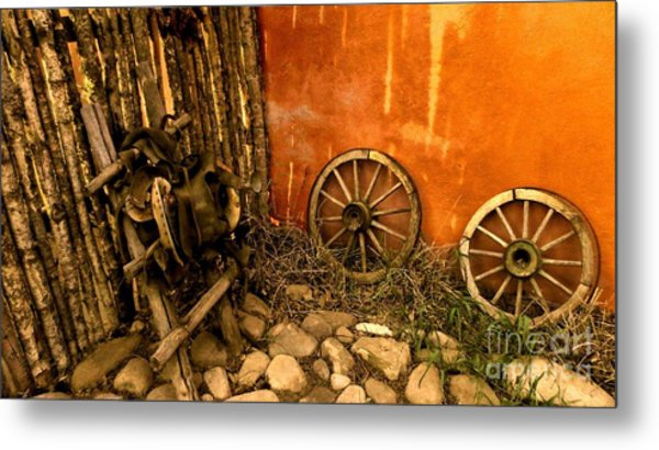 Olden Days Metal Print by Claudette Bujold-Poirier