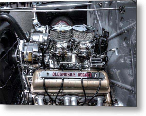 Olds Rocket Metal Print