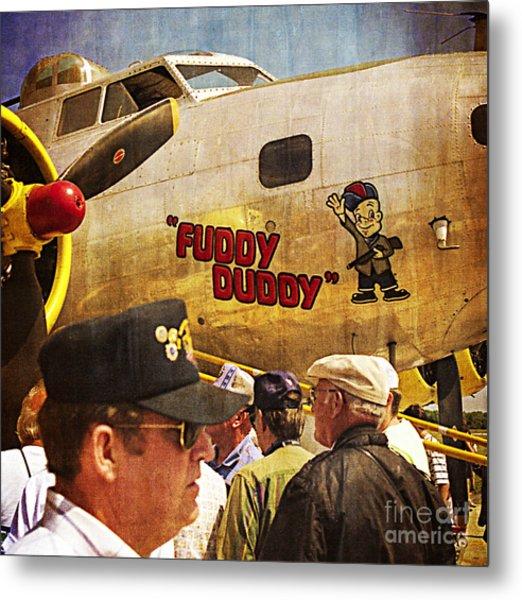 Ole Fuddy Duddy Metal Print